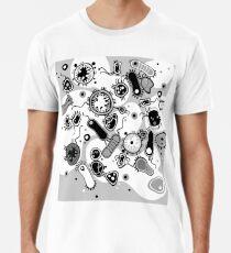Eukaryote (schwarz/weiß) Premium T-Shirt