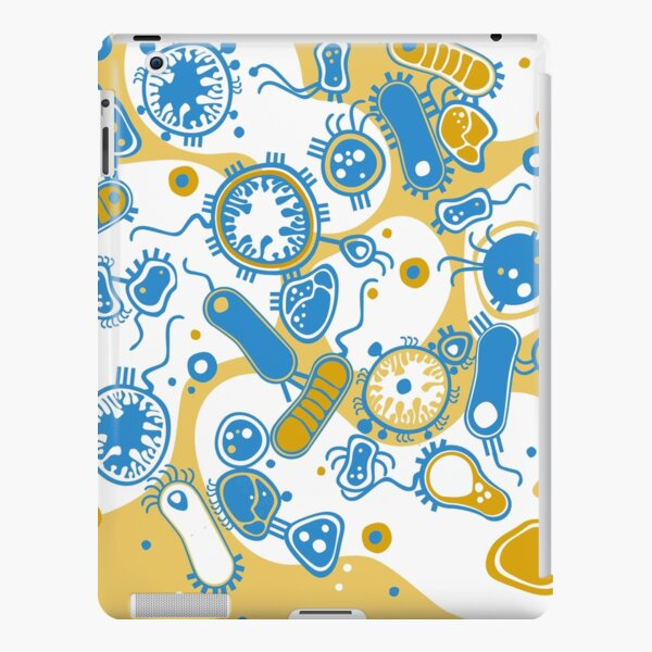 Eukaryote (yellow + blue) iPad Snap Case