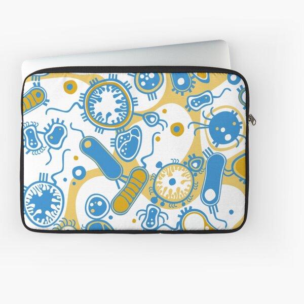 Eukaryote (gelb+ blau) Laptoptasche