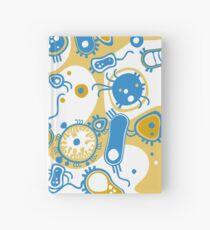 Eukaryote (gelb+ blau) Notizbuch
