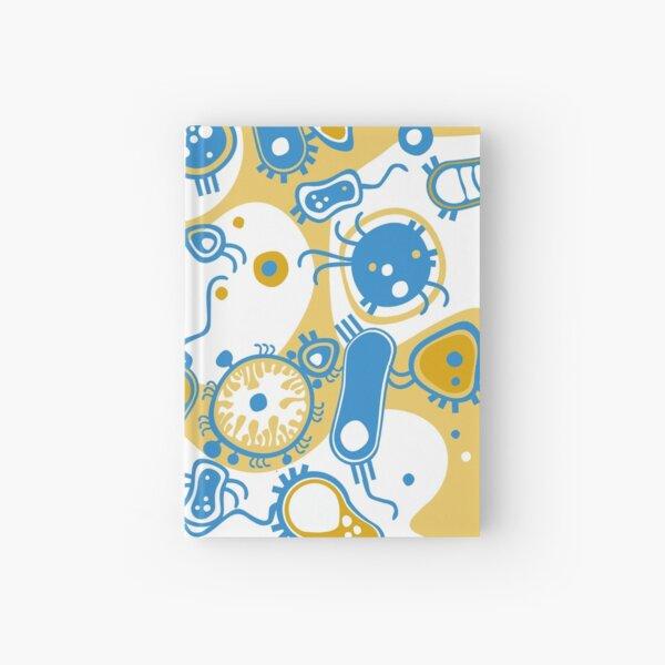 Eukaryote (yellow + blue) Hardcover Journal