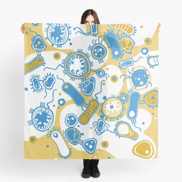 Eukaryote (yellow + blue) Scarf