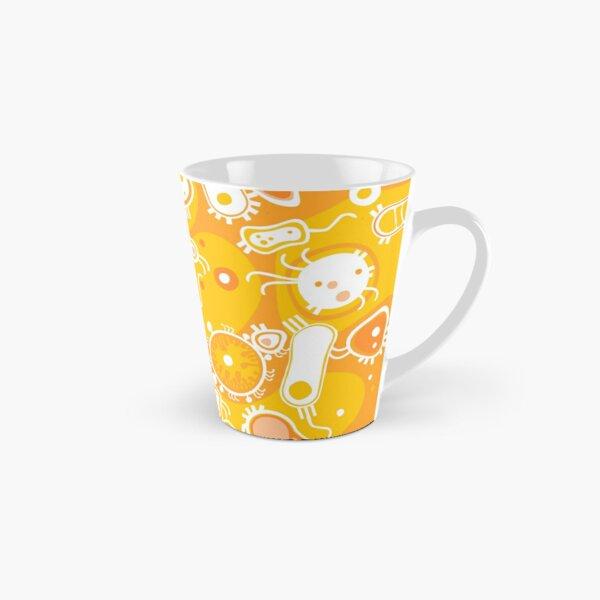 Eukaryote (white + yellow) Tall Mug