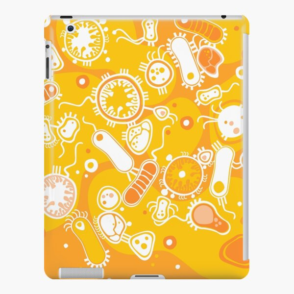 Eukaryote (white + yellow) iPad Snap Case