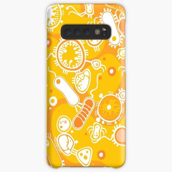Eukaryote (white + yellow) Samsung Galaxy Snap Case