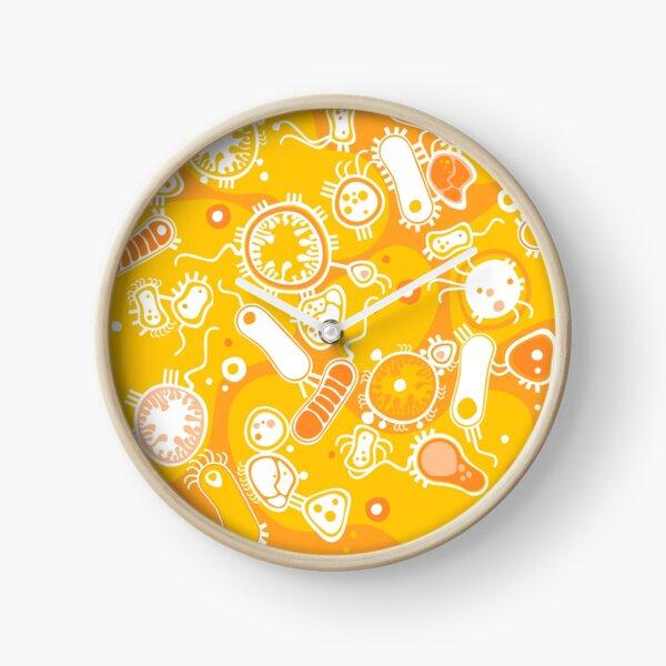 Eukaryote (white + yellow) Clock