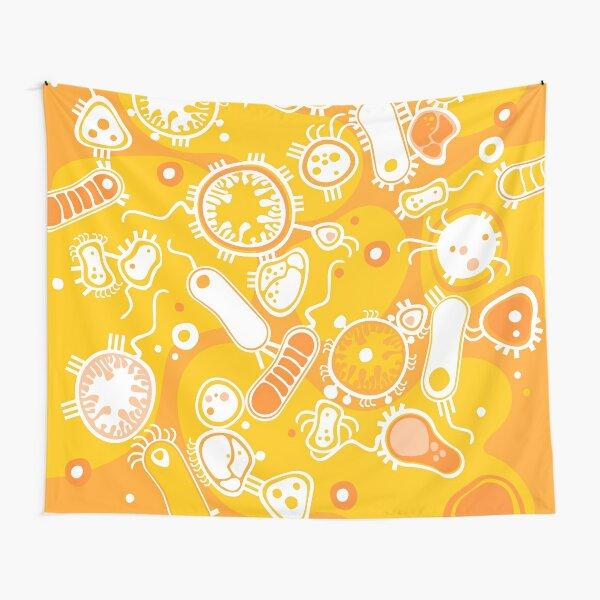 Eukaryote (white + yellow) Tapestry