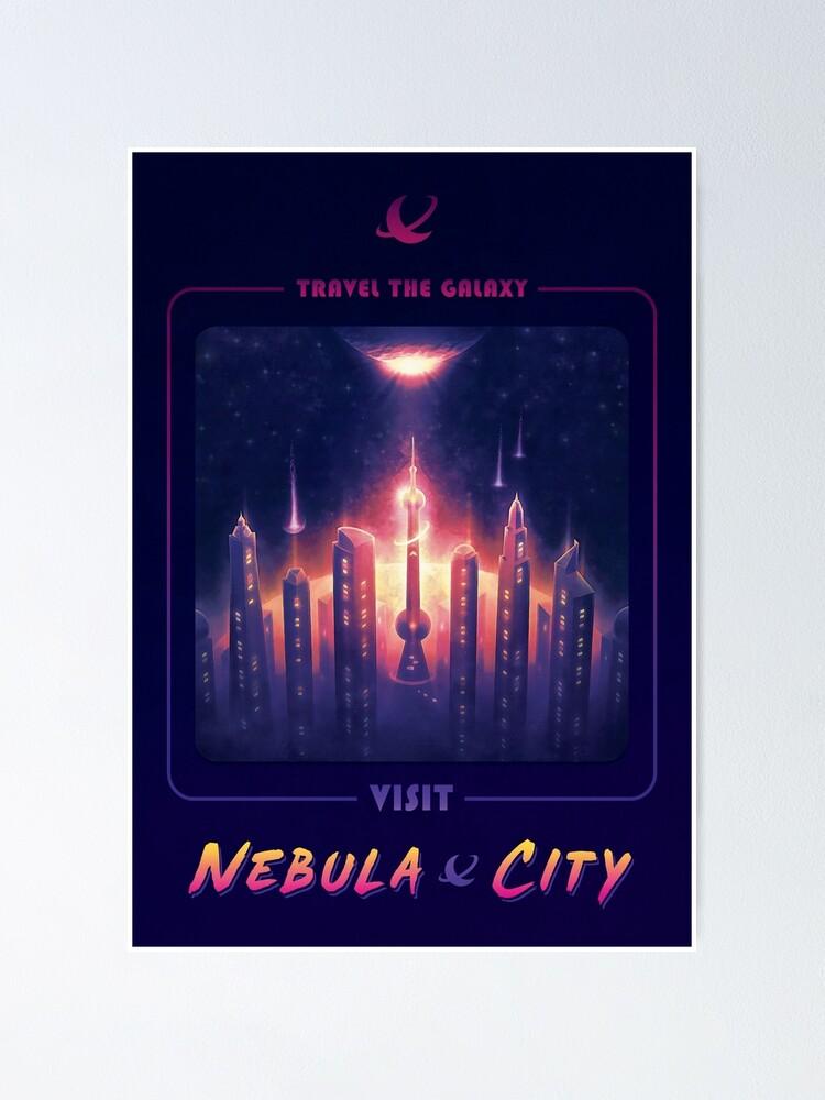 Alternate view of Nebula City Poster Poster