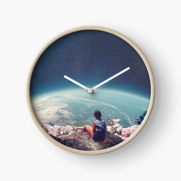 Mon monde s'est épanoui quand je t'ai aimé Horloge
