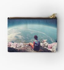My World Blossomed when I Loved You Zipper Pouch