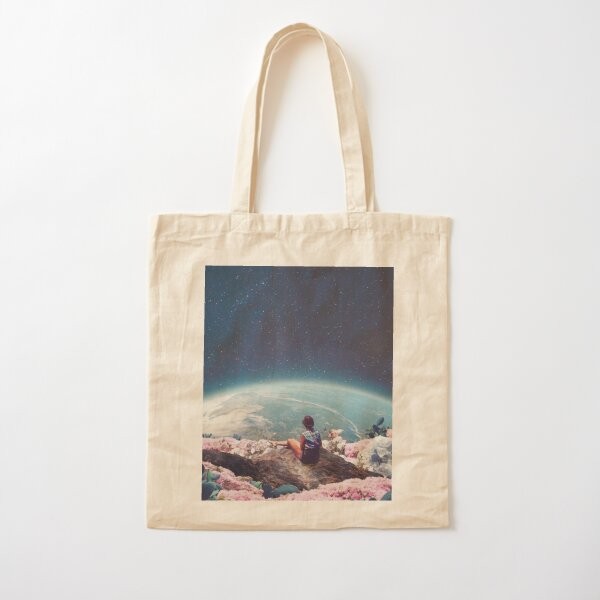 My World Blossomed when I Loved You Cotton Tote Bag