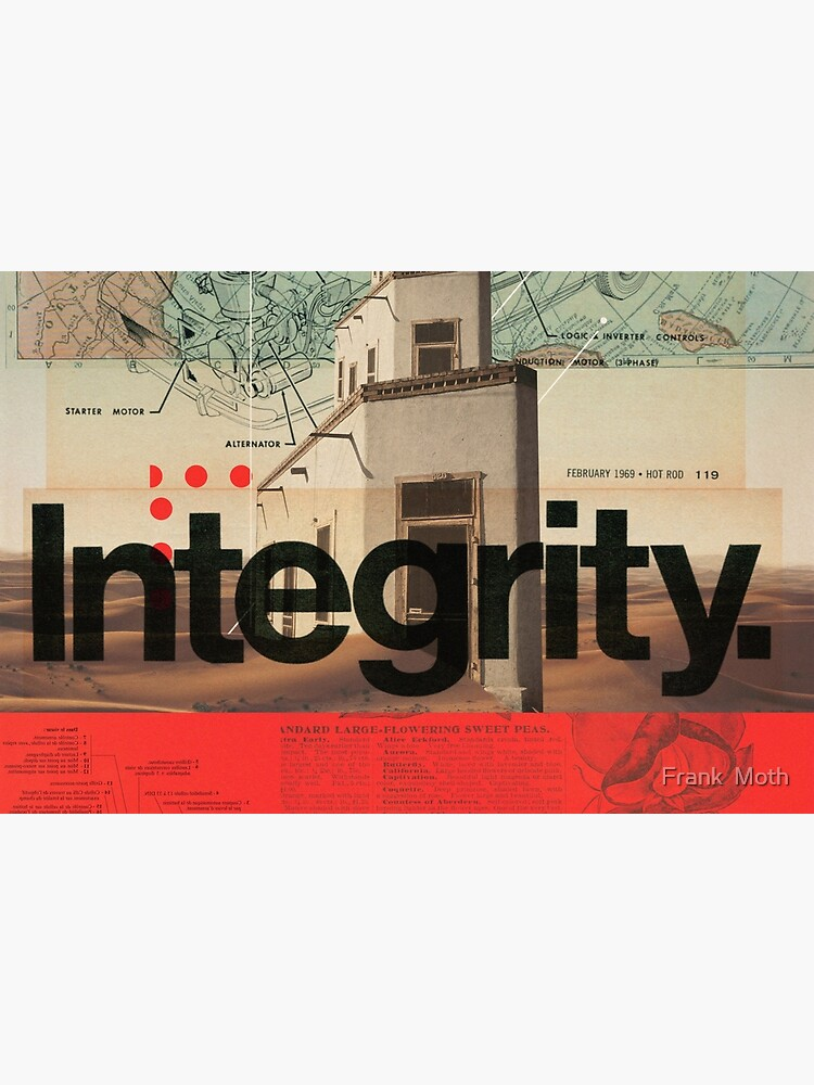Integrity by FrankMoth