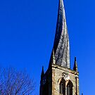 Chesterfield's crooked spire by SWEEPER
