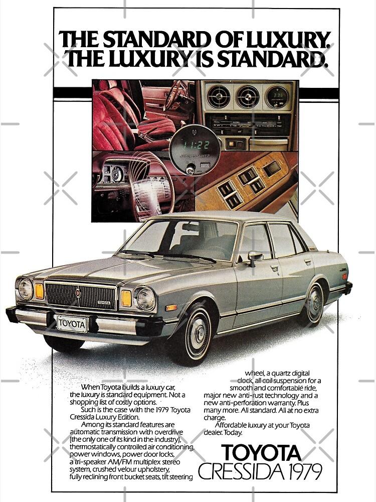 1980 TOYOTA CRESSIDA 4 DOOR TSHIRT VARIOUS SIZES