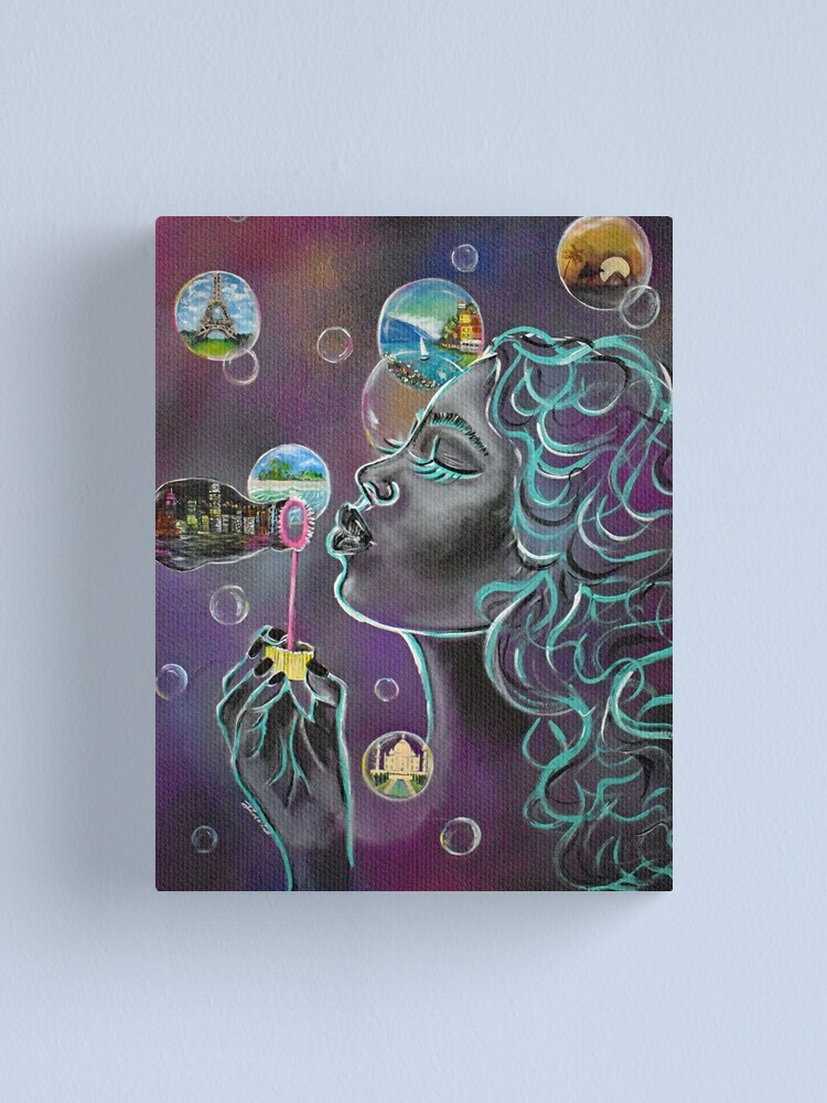Alternate view of City Dreaming Canvas Print