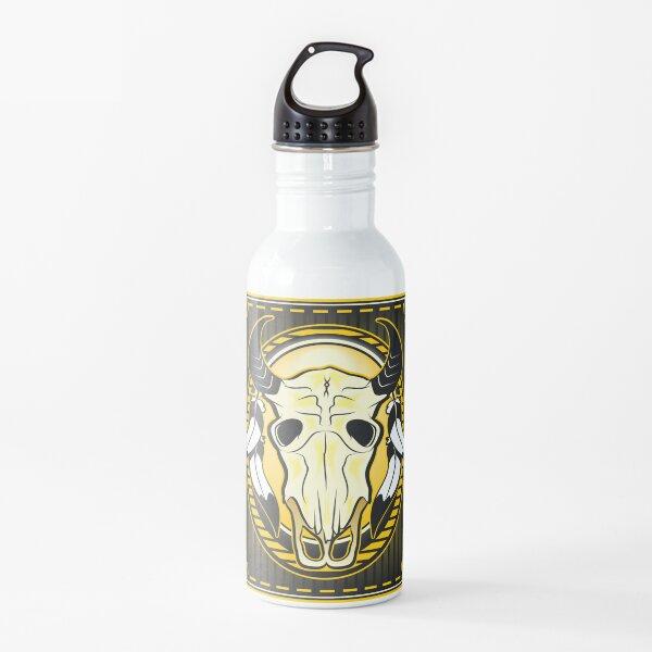 Buffalo Skull Mount Water Bottle
