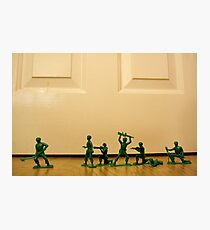 Toy Story Recreation - Soldiers in Toy Mode Photographic Print