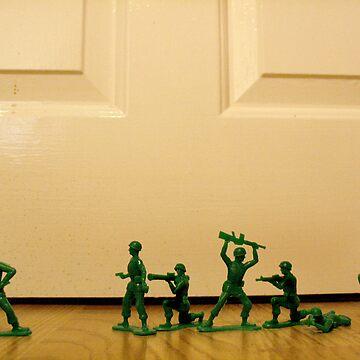 Toy Story Recreation - Soldiers in Toy Mode von AlexNoir