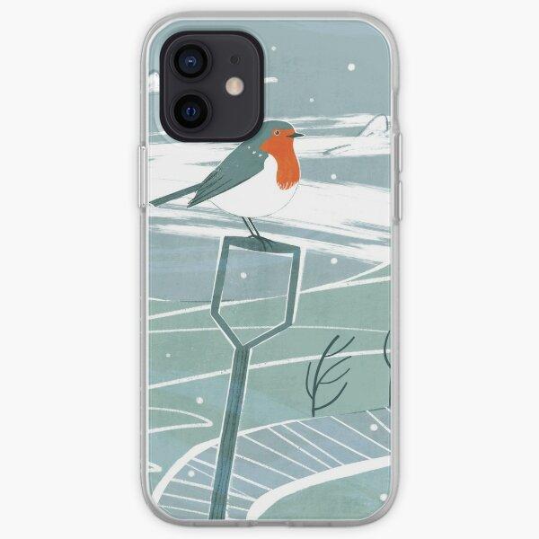 December Robin Scene iPhone Soft Case