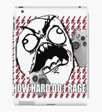 Video Game Rage iPad Case/Skin