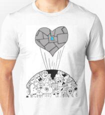 Heart of Steel Unisex T-Shirt