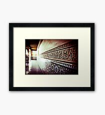 In the name of Allah Framed Print