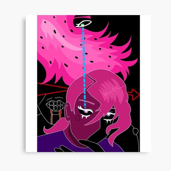 doppio/diavolo print Canvas Print