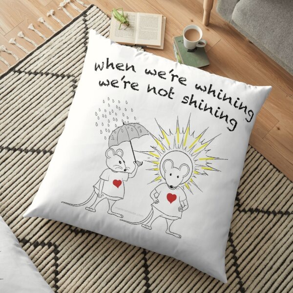 MantraMouse® Shining Cartoon in Color Floor Pillow