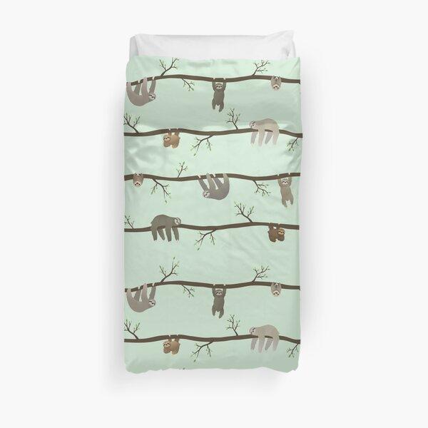 sloths Duvet Cover