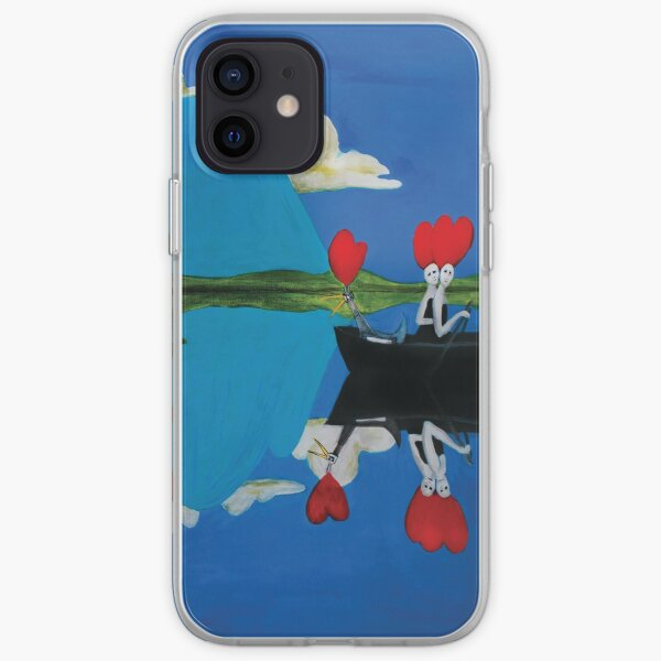 Dead Girls Rowing iPhone Soft Case