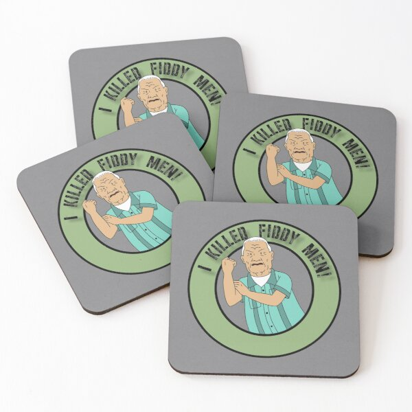 Cotton Hill Battle Cry Coasters (Set of 4)