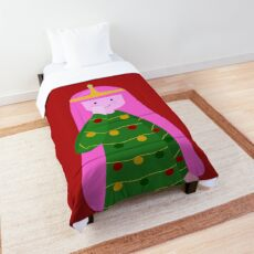 Princess bubblegum it's christmas!! Comforter