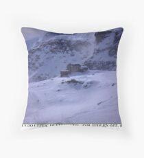 rifugio vigevano Throw Pillow