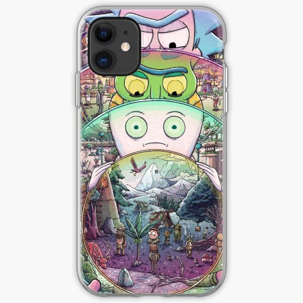 The Ricks Must Be Crazy iPhone Soft Case