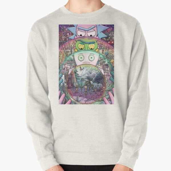 The Ricks Must Be Crazy Pullover Sweatshirt