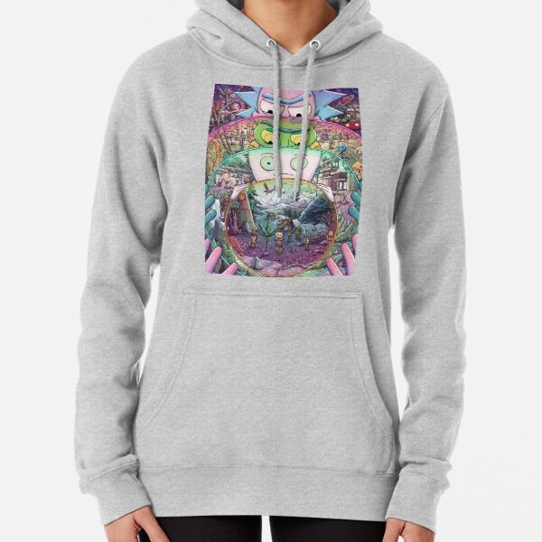 The Ricks Must Be Crazy Pullover Hoodie