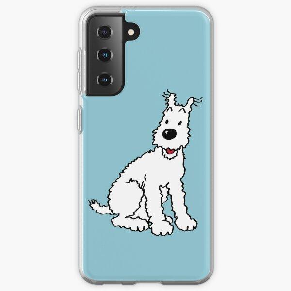 Snowy dog Tin Tin Samsung Galaxy Soft Case