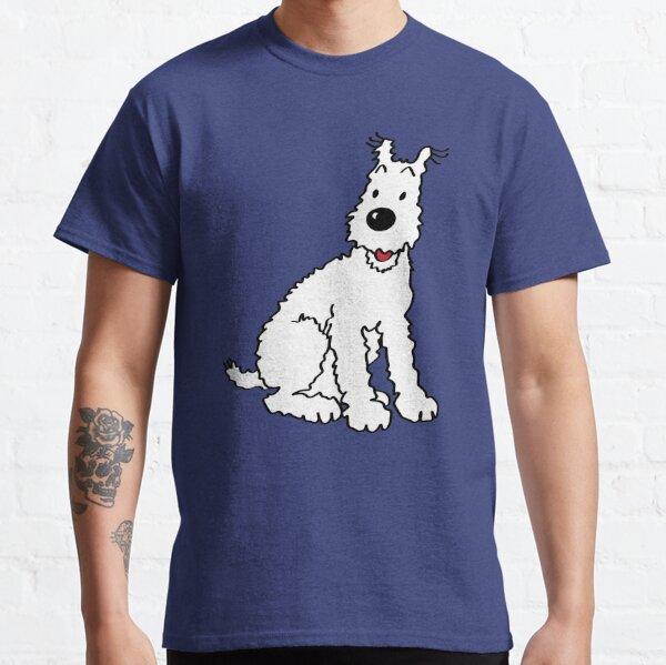 Snowy dog Tin Tin Classic T-Shirt