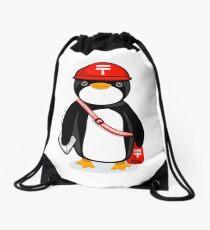 Penguin Postmaster Japan Drawstring Bag
