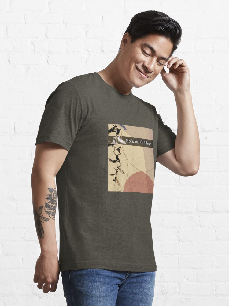 Alternate view of Mechanics Of Silence - Compilation Essential T-Shirt
