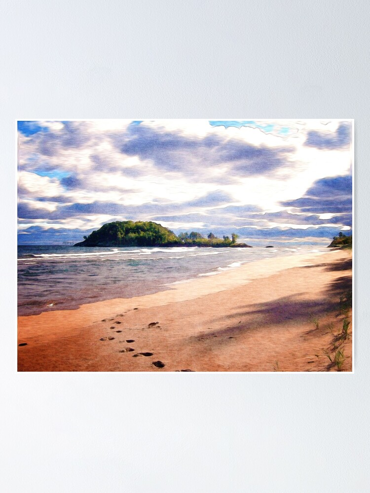 Alternate view of Little Presque Isle  Poster