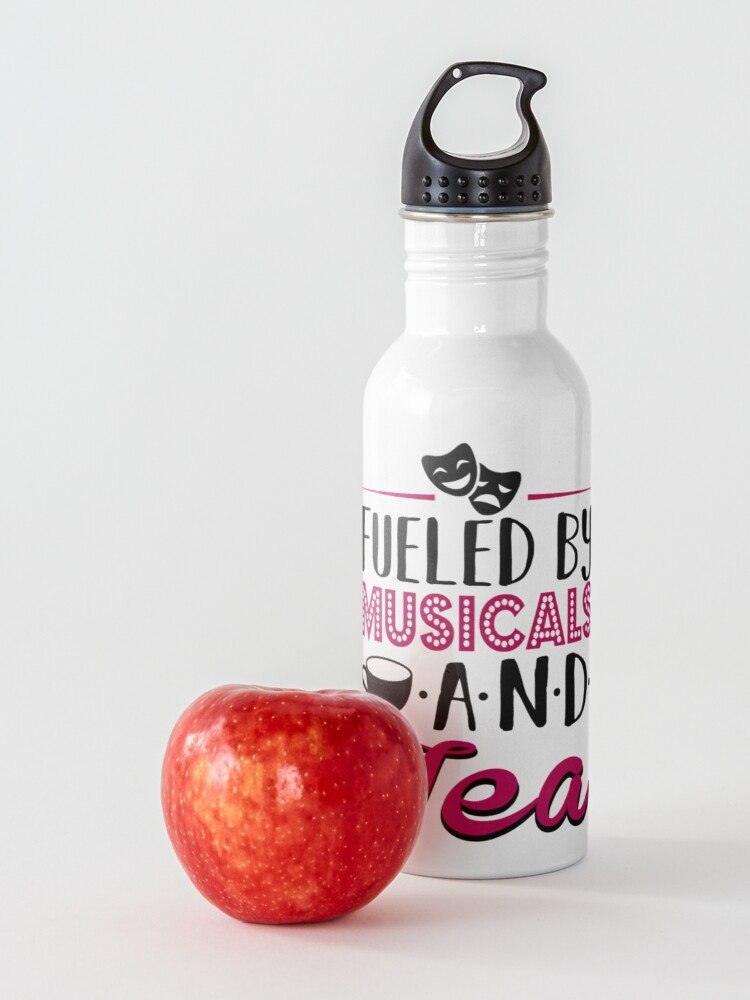 Alternate view of Fueled by Musicals and Tea Water Bottle