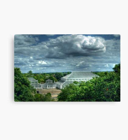 Temperate House Kew Gardens From Treetop Walkway Canvas Print