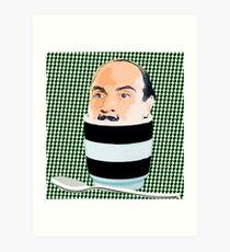 Egg Head Art Print