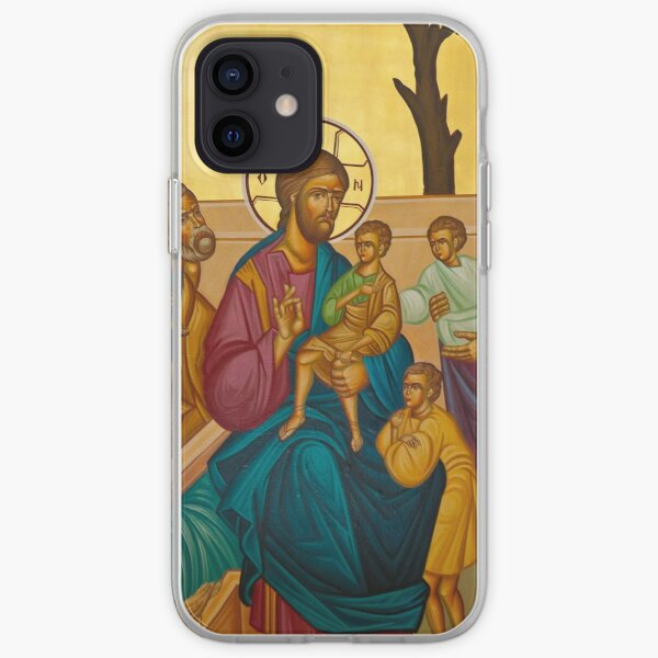 Christ Blessing the Children iPhone Soft Case