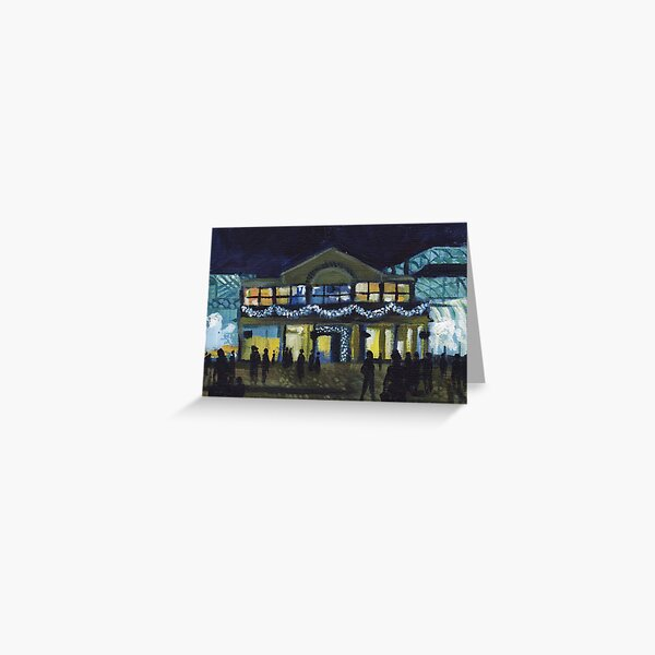 Covent Garden at Christmas  Greeting Card