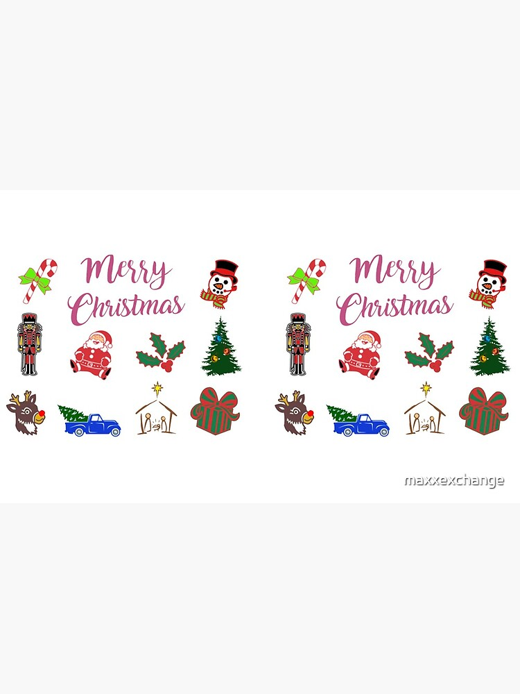 Christmas Clothing and Apparel, Holiday Scene.  by maxxexchange