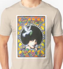 Peace and Love poster Unisex T-Shirt