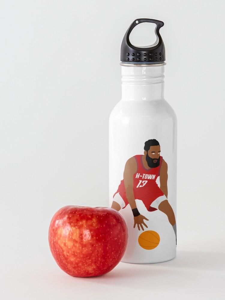 Alternate view of James Harden Houston Basketball Water Bottle