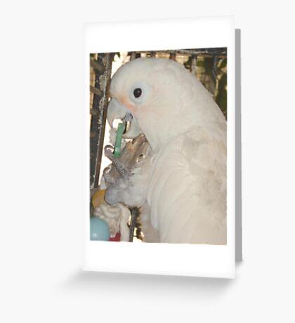 MARGARET AT PLAY Greeting Card